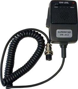 workman superstar dm 452 cb radio echo power microphone 4. Black Bedroom Furniture Sets. Home Design Ideas