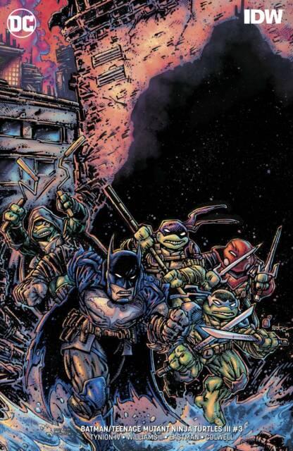 BATMAN TEENAGE MUTANT NINJA TURTLES III #3 (OF 6) DC Comics (2019) VARIANT ED