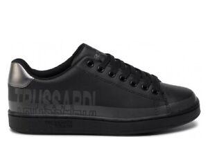 Trussardi-Jeans-79A00420-Nero-Sneakers-Donna-Scarpa-Sportiva