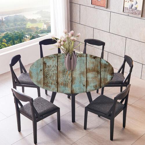Tischdecke rund oval Gartentischdecke Tischwäsche Tischtuch Tischdekoration