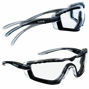 218572fc812b9f Lunettes Bollé Safety Cobra mousse protection sport combat squash ...