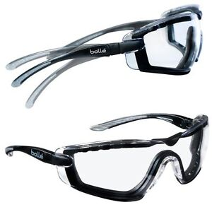 8b39a885854ecc Lunettes Bollé Safety Cobra mousse protection sport combat squash ...
