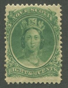 NOVA-SCOTIA-11-MINT-VF-NH-JUMBO