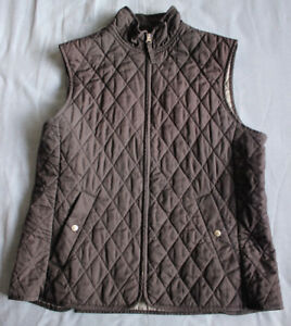 Land-039-s-End-Women-039-s-Ladies-Navy-Blue-Gilet-Size-M-Medium-Good-Used-Condition