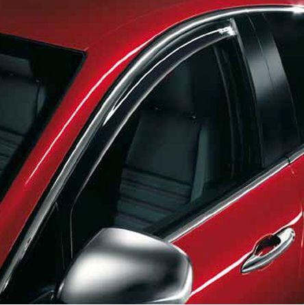 Deflettori ORIGINALI Alfa Romeo Giulietta aria finestrini anteriori 71805867 new