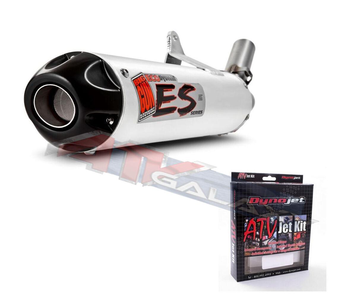 Big Gun Eco Auspuff Schalldämpfer & Dynojet Jet Jet Jet Set Rhino 660 07-2223 Q425 c9b4de