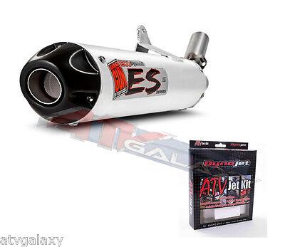 Big Gun ECO Exhaust Pipe Muffler /& Dynojet Jet Kit Suzuki LTZ 400 07-1192 Q316