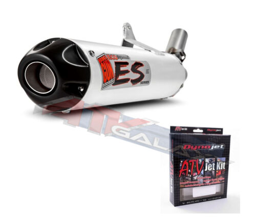 Big Gun ECO Exhaust Pipe Muffler /& Dynojet Jet Kit Yamaha YFZ 450 07-1202 Q427