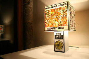 Handmade the stone roses lemon lamp albumsingle cover lampshade image is loading handmade the stone roses lemon lamp album single mozeypictures Image collections