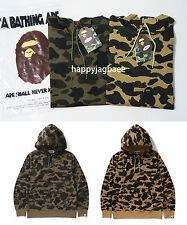 2016 A/W A BATHING APE Men's 1ST CAMO MESH PULLOVER HOODIE 2colors Japan New