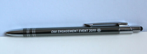 10//20//25//50 Promotional personalised touch SLIM pen *BT* blue// black ink