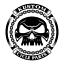 Gun Metal Bell 2ND Amendment Motorcycle /'Evil Spirits/' Biker Guard Bell
