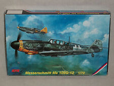 MPM 1/72 Scale Messerschmitt Me 109G-12 - Upgraded Kit