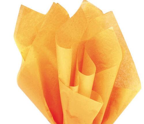 100 Sheets Goldenrod Gift Wrap Pom Pom Tissue Paper 15x20