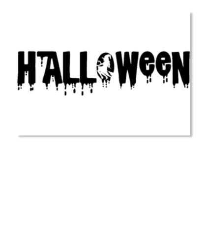Landscape Details about  /Fashionable Halloween Sticker Landscape Sticker