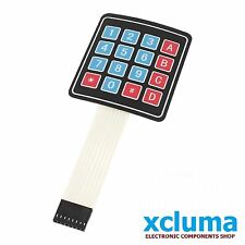 XCLUMA 4x4 MATRIX KEYBOARD SWITCH FILM| BUTTON CONTROL PANEL|SCM EXTENDED BE0119