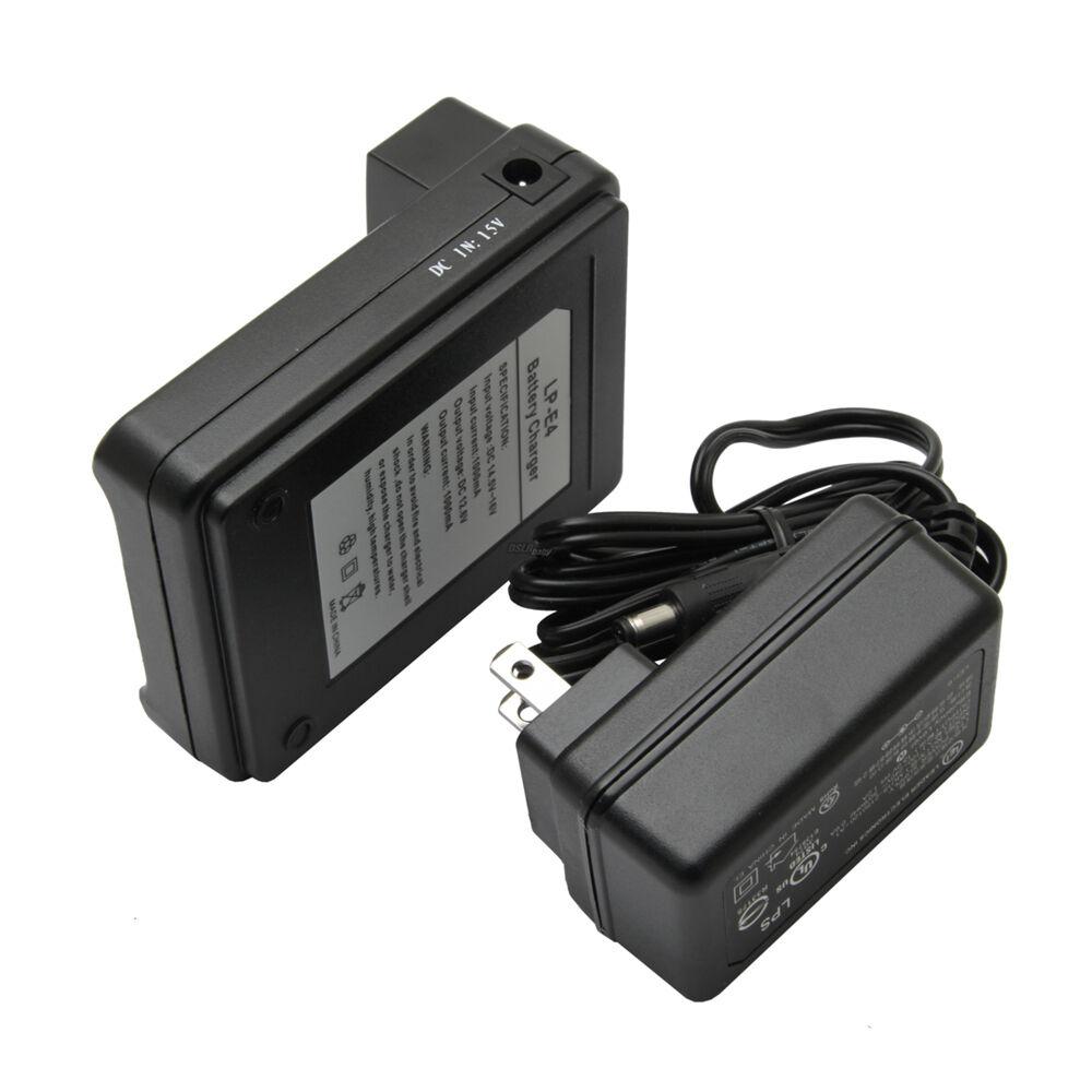 Cargador de batería LP-E4 Para Canon EOS-1D Mark III IV 3 4 EOS-1Ds Mark III EOS-1DX