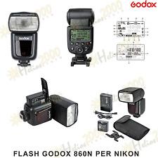FLASH GODOX V860N i-TTL II NG58 PROF PER NIKON come Speedlight SB-900
