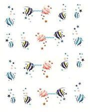 One Stroke Sticker,Tiere,Fische,Tattoo, Aufkleber  Nr.1083