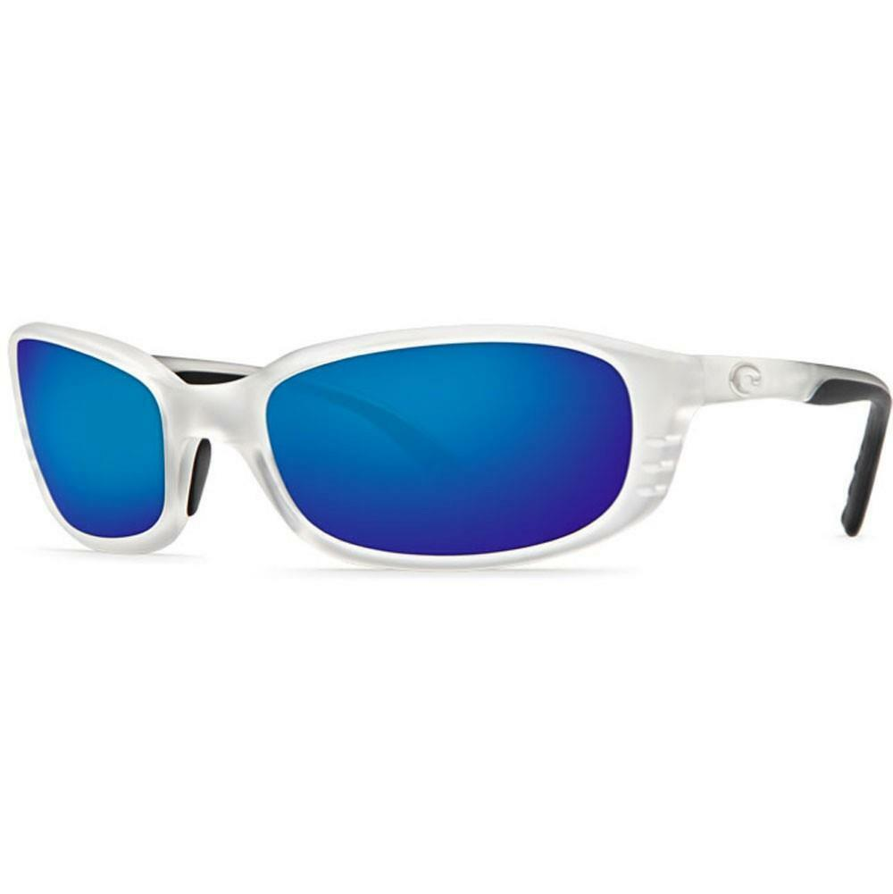 Costa Del Mar Brine Polarized Sunglasses 400G Glass Matte Crystalblu Mirror