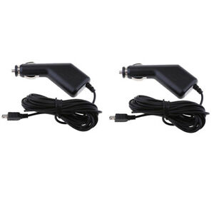 2x-Universal-5V-1-5A-Car-Charger-Adapter-and-Mini-USB-Cable-for-GPS-DVR-3-5M