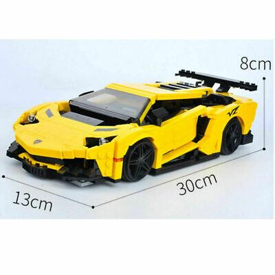 1168pcs LEGO Technic Series Lamborghinis Racing Car Model Blocks 2020 NEW