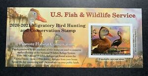 WTDstamps-RW87A-2020-2021-US-Federal-Duck-Stamp-Post-Office-FRESH
