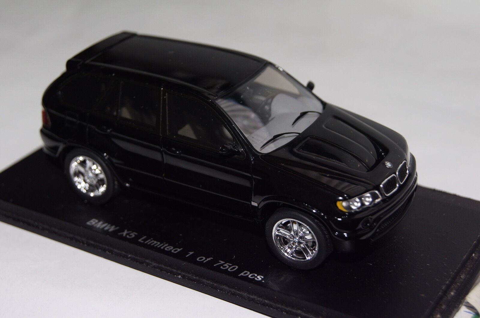 BMW X5 schwarz 1 43 Spark neu & OVP  | Viele Stile