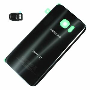 Samsung-Galaxy-S7-T-Mobile-G930T-Battery-Back-Door-Glass-Camera-Cover-Black