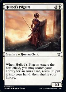 Heliod/'s Pilgrim 020 Theros Beyond Death Mtg x4 4x THB Magic