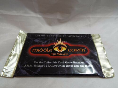 MIDDLE EARTH UNLIMITED BLUE BORDER SEALED BOOSTER PACK OF 15 CARDS