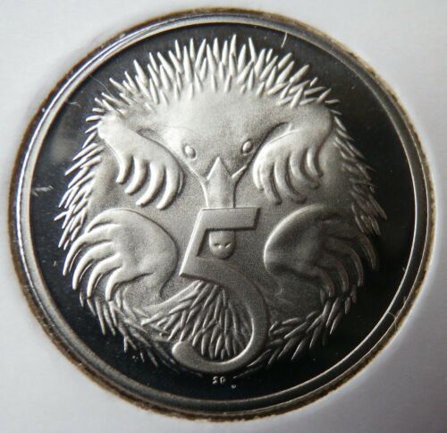 Coin 5c Free Post Aust! 1981 Australian Proof Five Cent Ex RAM Set Mint