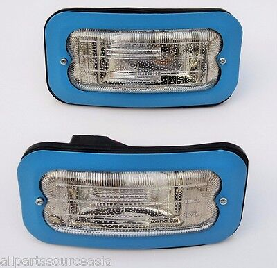 2x BEDFORD COMMERCIALS  trucks Parking LampLight Front Head (with bulbs) 24V