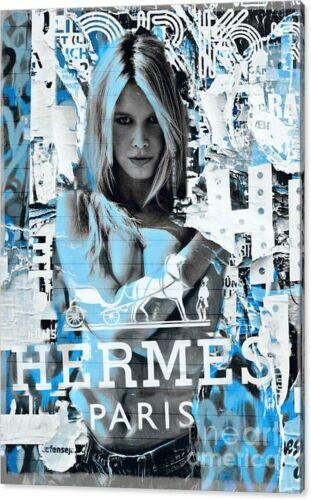 Motiv Brigitte Bardot Collage// Pop Art//Malerei//StreetArt//Leinwand//Kunstdruck//XXL