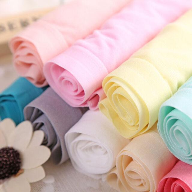 Women Comfortable Briefs Bamboo Fiber Underwear Pure Color Sexy Seamless Panties