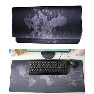 Extended gaming wide large computer mouse pad world map desk mat big image is loading extended gaming wide large computer mouse pad world gumiabroncs Images