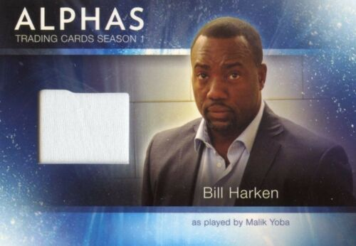 ALPHAS TRADING CARDS SEASON 1 COSTUME CARD M2 BILL HARKEN