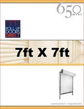 Roll Up Doors Direct Janus Model 650 7ft W x 7ft H