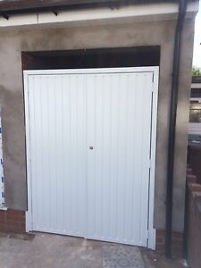 Designer Side Hinged Garage Door Steel Side Hung Opener
