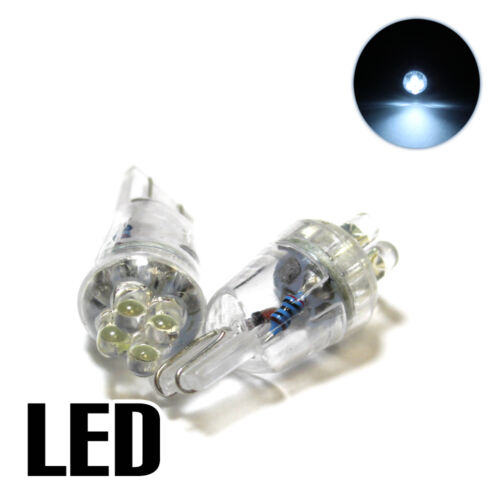 Fits Nissan Juke F15 1.5 White 4-LED Xenon ICE Side Light /'HID/' Parking Bulbs