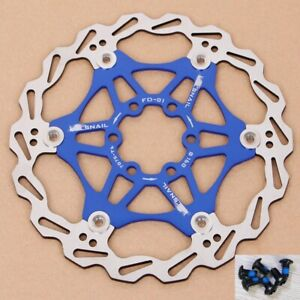 Snail-MTB-Bicycle-Bike-Brake-Rotor-Floating-Disc-160-180-203mm-For-SHIMANO-SRAM