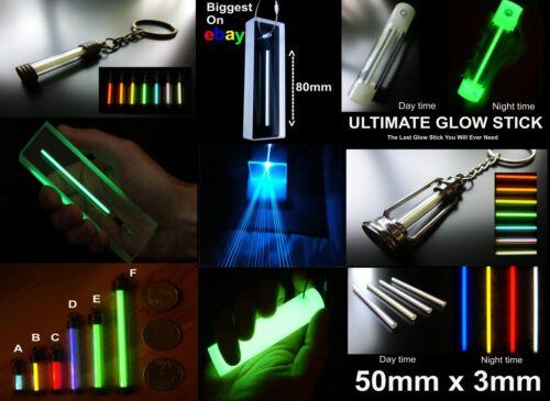 GTLS,Glow In The Dark Marker Carp Fishing FAT 25x4mm THICK WHITE Tritium