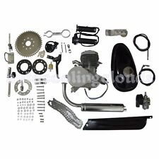 80cc 2-Stroke Gas Motorized Bicycle Kit Bike Petrol Engine Motor Air-cooling
