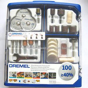 Dremel-723-100-Piece-Multipurpose-Accessory-Gift-Set-Kit-for-Rotary-Multi-Tools