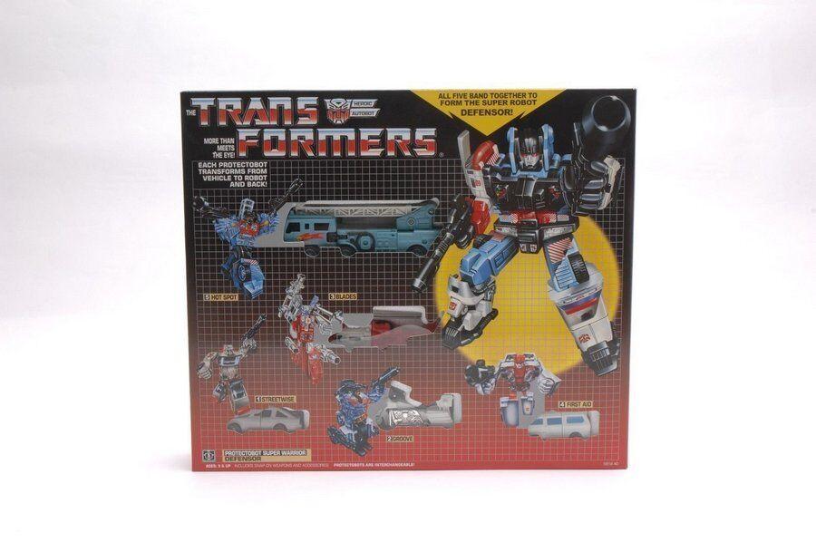 Top TRANSFORMERS G1 PredECTOBOTS DEFENSOR GIFTSET MIB AUTOBOT Spielzeug