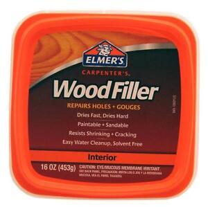 NEW ELMERS E84908B PINT CARPENTERS WOOD FILLER PUTTY DRIES HARD 6953236 | eBay