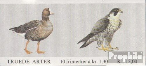 Norway MH4 complete issue unmounted mint never hinged 1981 Birds
