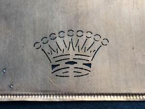 Kroenchenmonogramm-alte-Kupferschablone-Adelshaushalt
