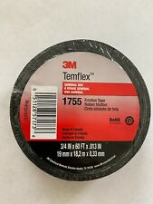 3m Temflex 1755 Rubber Cotton Friction Grip Tape 34 X 60 Ft