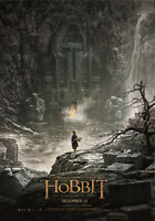 The Hobbit Film Cover Poster A1 A2 A3 A4 Desolation Of Smaug Lord Of The Rings